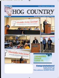 The April May 2020 issue of Prairie Hog Country