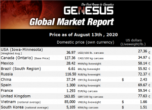Genesus Global Market Report Mexico, August 2020